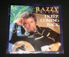 """RAZZY BAILEY P/S 45 """" TRUE LIFE COUNTRY MUSIC """""""