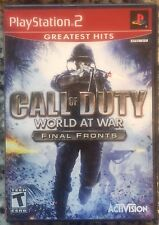 Call of Duty: World at War Final Fronts Greatest Hits (PlayStation 2) SEALED NEW