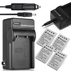 EN-EL5 Battery + Charger For Nikon Coolpix P6000 P3 P4 P510 P520 P530 P100 P90