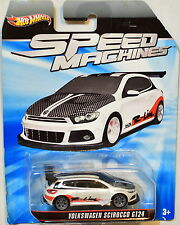 HOT WHEELS SPEED MACHINES VOLKSWAGEN SCIROCCO GT24 BAD CARD