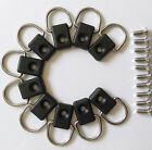 10pcs Canoe Kayak D Ring Outfitting Fishing Rigging Bungee Kit Accessory IC