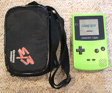 NINTENDO GAMEBOY COLOR LIME GREEN KIWI HANDHELD CONSOLE GAME BOY COLOUR SYSTEM