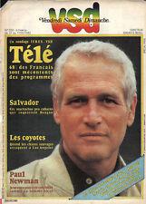 """VSD n°232 paul newman  salvador """"muchachos""""pro cubains"""