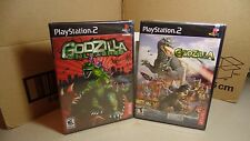 Godzilla Save the Earth & Godzilla Unleashed PS2 Brand NEW & SEALED Lot Set