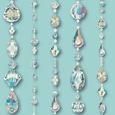 670801 Crystal Teal Arthouse Opera Wallpaper Diamond Bling
