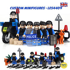 7pc SWAT | Police | Army | Military Soldier Custom Minifigure+FREE LEGO BRICK UK