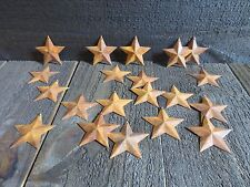 Set of 20 Rusty Barn Stars 2.25 in 2 1/4 Dimensional Rustic Country SHIPS FREE!