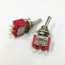 Home 2X AC 5A 125V 2A 250V ON-ON 3Pins 2 Positions Toggle Switch Tool Controller
