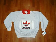 RARE Vintage ADIDAS Hip Hop RUN DMC pullover jacket Sweater deadstock! 80's