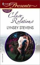 Close Relations by Lynsey Stevens (2002, Paperback)