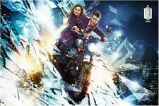 DOCTOR WHO FILMPOSTER MOTORCYCLE