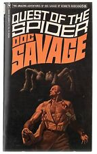 Doc Savage Book 68 Quest Of The Spider Paperback Novel 1st Print Bantam NM