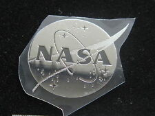 NASA     NASA   MEATBALL METAL DECAL STICKER 1 INCH DIAMETER
