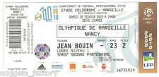 Billet  / Place  OM Olympique de Marseille - OM vs Nancy  ( 090 )