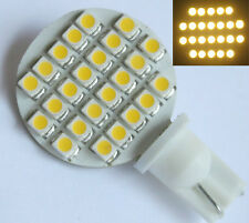 10x T10 194 921 W5W Bulb Lamp 24 SMD 1210 LED 12V DC Warm White