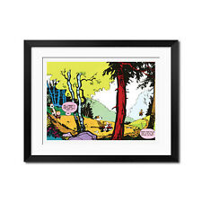 Calvin and Hobbes  All The Nothing Poster Print