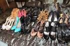 Lot Used 11 High Heels Wedges Platform Pumps Stiletto Shoes Sz  7 To 9 1/2