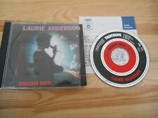 CD Pop Laurie Anderson - Bright Red (14 Song) WARNER +Presskit / Brian Eno