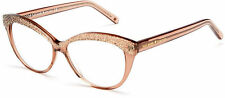 NEW Kate Spade Zabrina Cat Eye Reading Glasses Brown Glitter Readers +2.00 Case