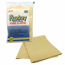 Vileda FLUNKEY Super Absorbent Synthetic Chamois Leather Shammy Car Drying Cloth