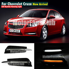 LED Daytime Running Light For Chevy Cruze DRL Fog 2009 10 11 12 2013 2014 signal