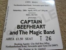 Captain Beefheart Concert Coasters Ticket April 1973 High quality mdf