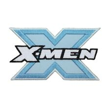 X-Men Blue Steel Logo Patch Superhero Mutant Team Marvel Comics Iron-On Applique