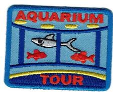 boy girl cub AQUARIUM Visit tour Fish Fun Patches Crests Badges GUIDE SCOUT day