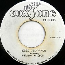 DELROY WILSON 45 King Pharoah COXSONE Reggae ROCKSTEADY Ska JAMAICA PRESS #C954