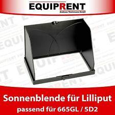 Lilliput Blendschutz / Sun Hood / Sunshade / Sonnenschutz für 665GL / 5D2 EQD10