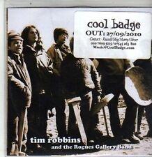 (DA722) Tim Robbins & The Rogues Gallery Band - 2010 DJ CD