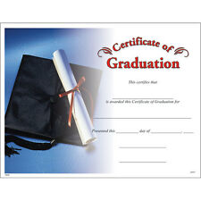 Certificate of Graduation, Pack of 15