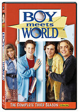 Boy Meets World - The Complete Third Season dvd 2010, 3-Disc Set