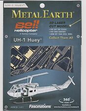 Fascinations Metal Earth Huey UH-1 Laser Cut 3D Model NEW FREE SHIPPING