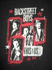 """2010 BACKSTREET BOYS """"This Is US"""" Concert Tour (MED) T-Shirt"""