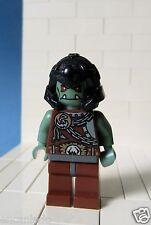 Lego Figur Ritter Fantasy Era - Troll Warrior mit schwarzen Helm - No: cas368