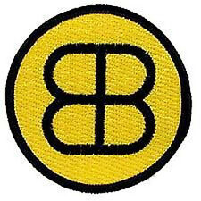 "Buckaroo Banzai Patch- BB Black & Gold Logo 3"" Embroidered Patch (BZPA-07)"