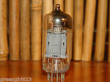 Raytheon Tall 12AX7 ECC83 Long Gray Plates Vacuum Tube 1260/1000 µmhos 1.0/.95mA