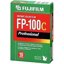 10 FUJIFILM FP-100C Professional Instant Colour Film GLOSS FP100 7.3X9.5CM PHOTO