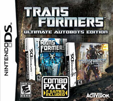 Nintendo DS Transformers - Ultimate Autobots Edition (NDS, 2013) NEW & SEALED