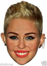 MILEY CYRUS - Sexy Wrecking Ball Star - Big Head Window Cling Decal Sticker