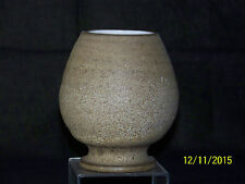 Jaap Revelli Dutch Art Pottery Mid-Century Hand Spun Footed Vase