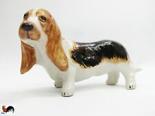 Animal Dog Ceramic Small Figurines Miniature Statue Decor Home Collectible Gift