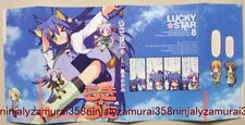 Lucky Star book cover jacket Strike witches cosplay konata