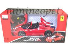 RASTAR 74500 R/C RADIO REMOTE CONTROL CAR FERRARI 458 SPECIALE A 1/14 RED
