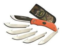 New Outdoor Edge Razor-Blaze Replacement Blade Knife Orange w/ 6 Blades RB-20C