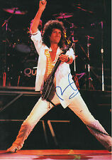 """Brian May """"Queen"""" signed 8x12 inch photo autograph"""