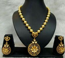 indian pakistani Bollywood style a beautiful costume jewellery necklace set