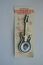 1963 ORIGINAL INVICTA FABULOUS BEATLES JEWELLERY BROOCH - JOHN LENNON