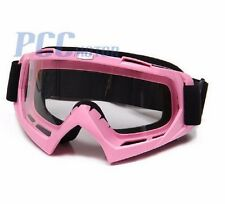 PINK DIRT BIKE ATV MOTORCYCLE GOGGLE MOTOCROSS P GOGGLE-PINK